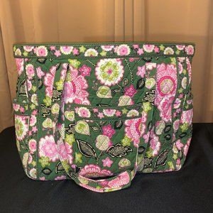 NWT Vera Bradley Get Carried Away Tote Olivia Pink